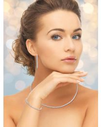 A. Link Diamond Necklace