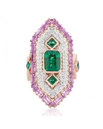 CLEOPATRA RING- AGTA/GEMDIVA AWARD WINNER