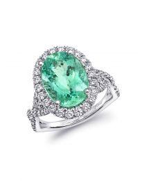 Exquisite Signature Color Paraiba Ring