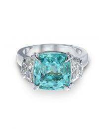 Magnificent Paraiba Signature Color Ring