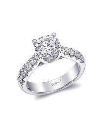 Graceful Diamond Engagement Ring