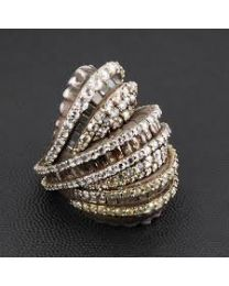 Charm gold bracelet