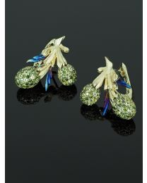 Earrings Cedr Branch small