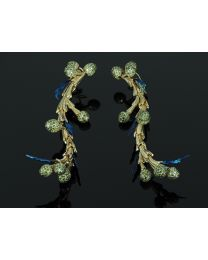 Earrings Cedr Branch