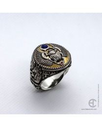Egyptian Scarab Beetle ring