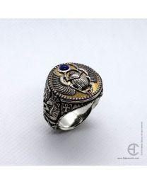 Egyptian Scarab Beetle ring