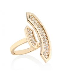 STELLARA RING WITH DIAMONDS